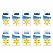 Duraxx 10 Numara İşitme Cihazı Pili 6x10 (60 adet)