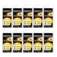 Duracell Activair 10 Numara İşitme Cihazı Pili 6x10 (60 adet)