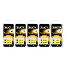 Duracell Activair 10 Numara İşitme Cihazı Pili 6x5 (30 adet)