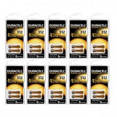 Duracell Activair 312 Numara İşitme Cihazı Pili 6x10 (60 adet)