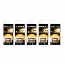 Duracell Activair 312 Numara İşitme Cihazı Pili 6x5 (30 adet)