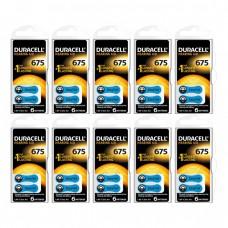 Duracell Activair 675 Numara İşitme Cihazı Pili 6x10 (60 adet)