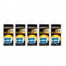 Duracell Activair 675 Numara İşitme Cihazı Pili 6x5 (30 adet)