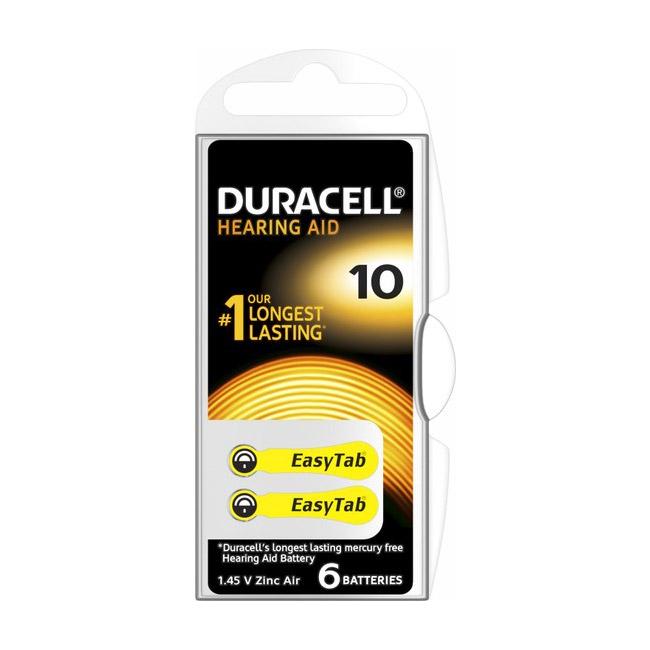 Duracell Pil No:10