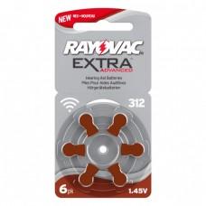 Rayovac Extra Pil No:312