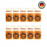 Remcell 13 Numara İşitme Cihazı Pili 6x10 (60 adet)