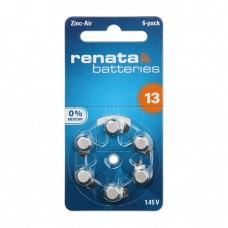Renata 13 Numara İşitme Cihazı Pili